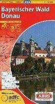 ADFC-Radtourenkarte 23 Bayerischer Wald / Donau 1 : 150 000