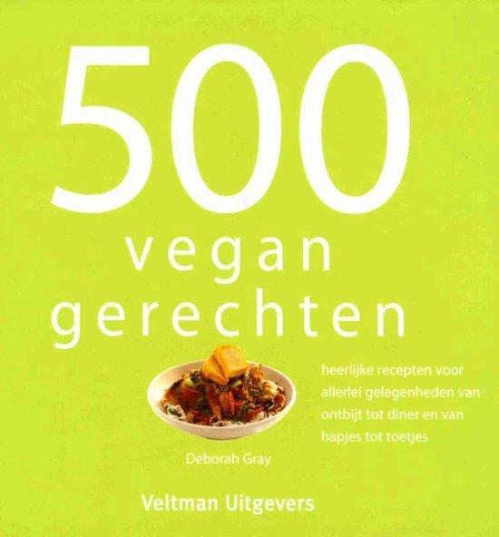Boek cover 500 vegan gerechten van Vitataal (Hardcover)