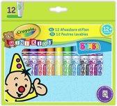 Crayola Mini Kids Bumba 12st. Viltstiften bolle punt