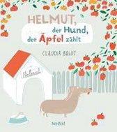 Omslag Helmut, der Hund, der Äpfel zählt