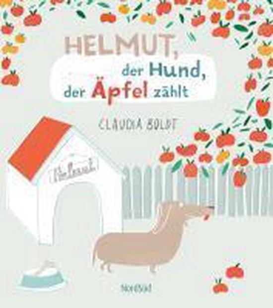 Omslag van Helmut, der Hund, der Äpfel zählt