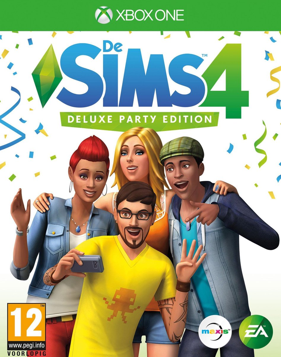 De Sims 4 - Deluxe Party Edition - Xbox One - Electronic Arts