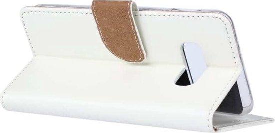 Boekmodel Hoesje Samsung Galaxy S10e - Wit