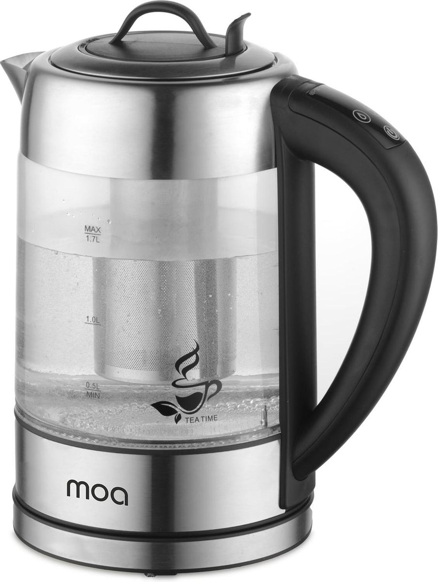 Moa DUTP 789 Waterkoker thee infuser 1.7 L