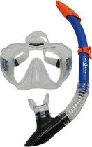 Aqua Lung Sport Malibu + Vera Cruz - Snorkelset - Volwassenen - Transparant