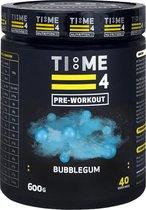 Time 4 Nutrition - Pre Workout - Bubblegum - 600g - 40 servings