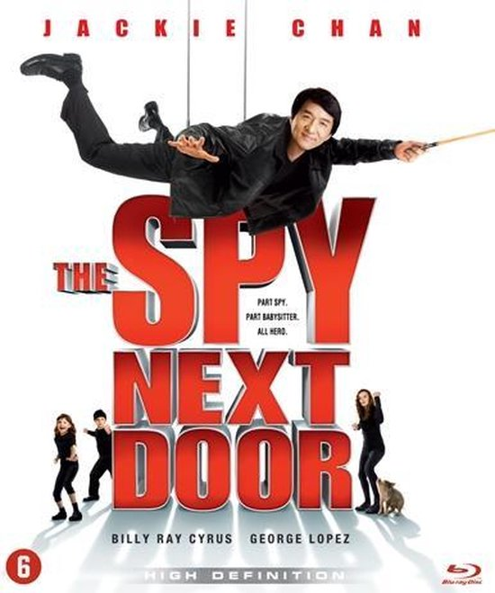 Cover van de film 'Spy Next Door'