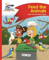 Reading Planet - Feed the Animals - Red B