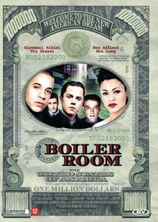 Cover van de film 'The Boiler Room'