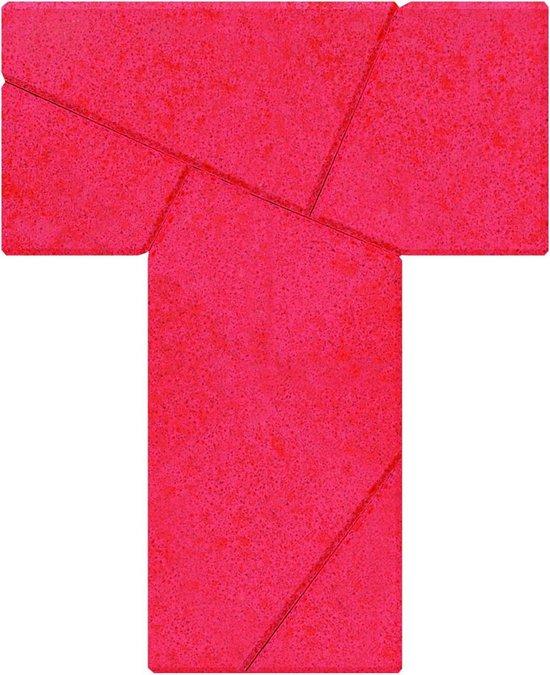 Stenen puzzel: t-vorm