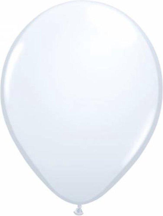 Qualatex ballonnen 100 stuks White