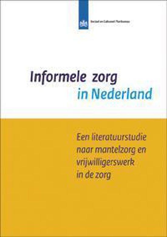 SCP-publicatie 2013-19 - Informele zorg in Nederland - Alice de Boer   Fthsonline.com