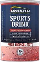 Maxim Hypotonic Sports Drink - Fresh Tropical - 480 gram