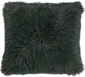 Dutch Decor Sierkussen Fluffy 45x45 cm groen