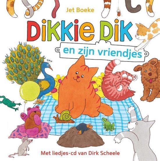 Boek cover Dikkie Dik  -   Dikkie Dik en zijn vriendjes van Jet Boeke (Hardcover)