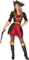 Barok piraten kostuum voor vrouwen  - Verkleedkleding - Large