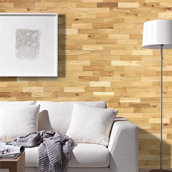 Verbazingwekkend bol.com   wodewa lambrisering hout 3D optiek eiken rustiek AW-58