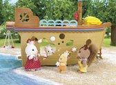 Sylvanian Families 5210 Schatzoekersschip  - Speelfigurenset