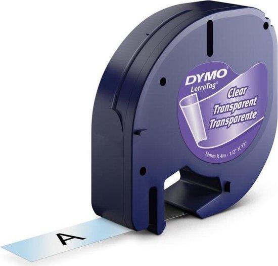 Afbeelding van Dymo Letratag Tape Transp