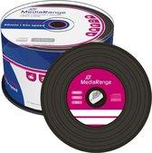 MediaRange CD-R 700 MB Black Vinyl 50 stuks