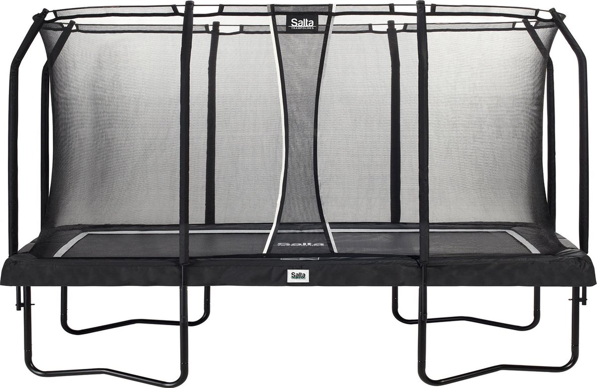 Salta trampolines Premium Black Edition Vierkant - 244x396 cm - Zwart