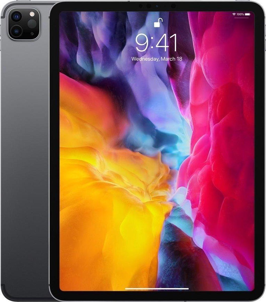 Apple iPad Pro (2020) - 11 inch - WiFi + 4G - 256GB - Spacegrijs