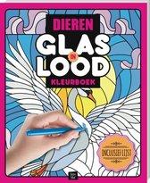 Glas-in-lood kleurboek - Dieren