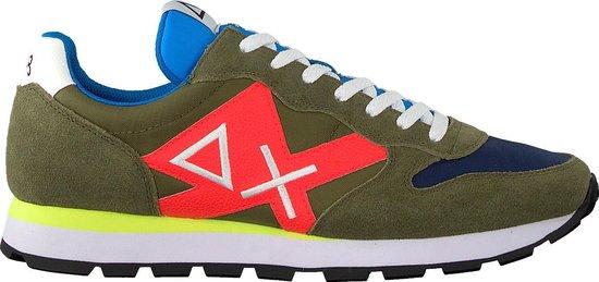 Sun68 Heren Lage sneakers Tom Logo Men - Groen - Maat 41