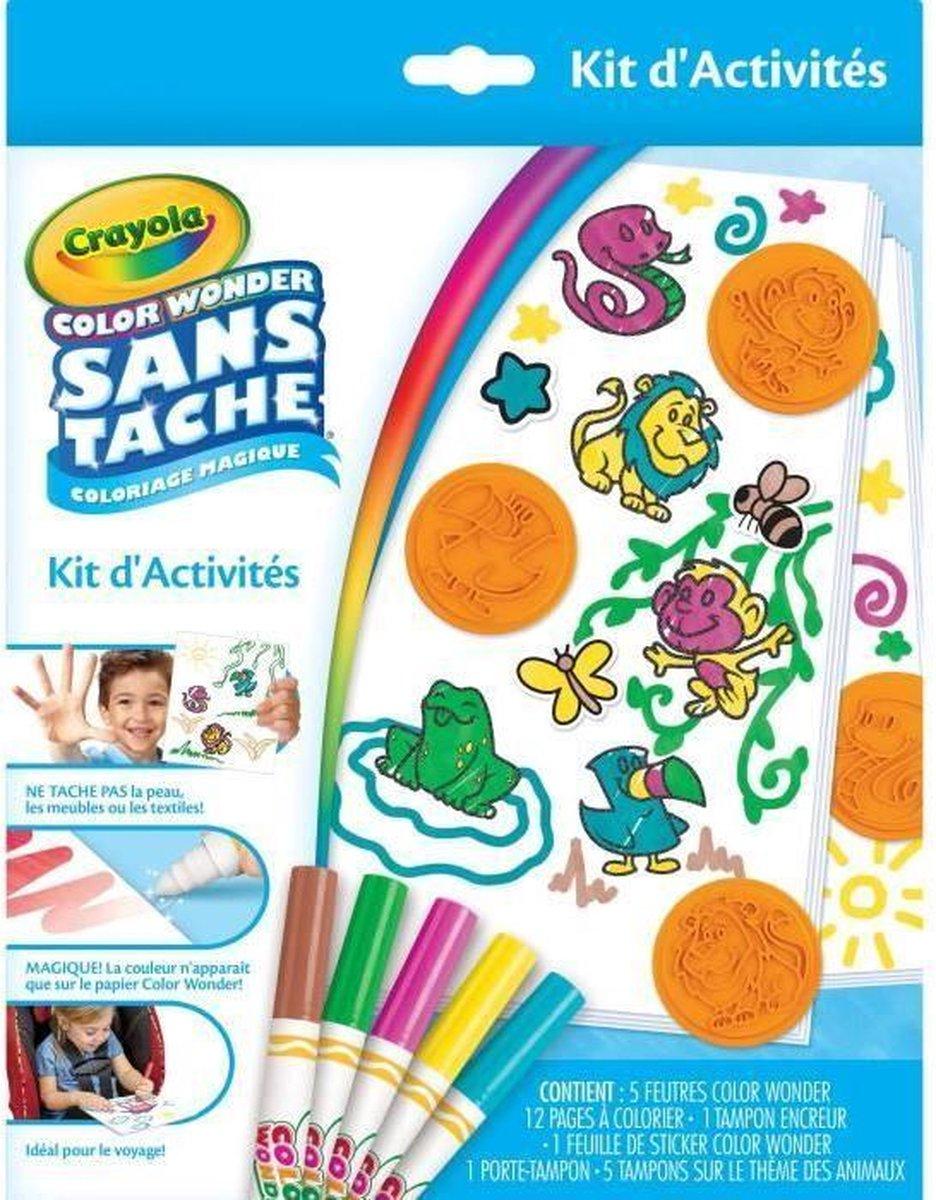 CRAYOLA - Color Wonder Activity Kit