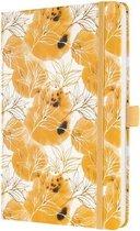 Weekagenda Jolie Beauty A5 2021 hardcover Floral Yellow