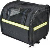 Fietstas voor bagagedrager Zwart 36x28x30cm