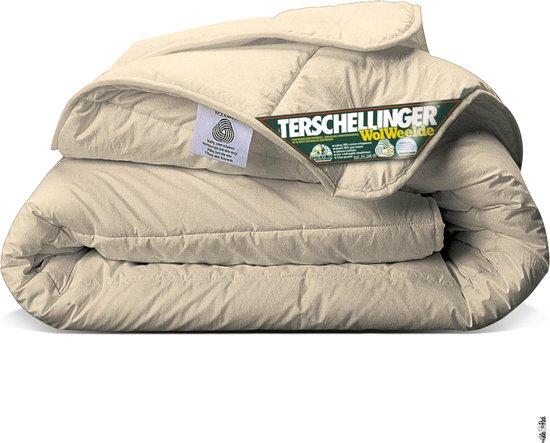 Terschellinger | Luxe 4-Seizoenen 100% IWS Zuiver Scheerwollen Dekbed | 260x220cm XL