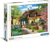 Clementoni Legpuzzel Hq - The Old Cottage 1000 Stukjes