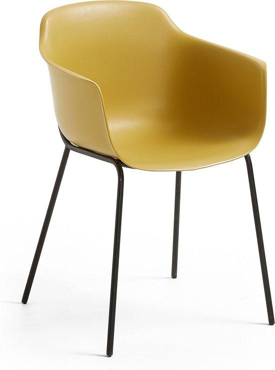 Kave Home Mosterdkleurige stoel Khasumi