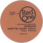 Red One Maximum Control Argan Matte Hair Wax 150ml