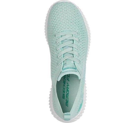 Skechers Dames Mintgroene sneaker memory foam - Maat 37 INerl0yM