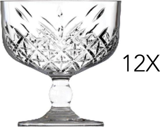 Pasabahce IJscoupe Timeless 27,5 cl - Transparant 12 stuk(s)