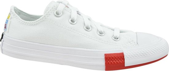 Converse Chuck Taylor All Star Jr 366993C, Kinderen, Wit, Sneakers maat: 28,5 EU