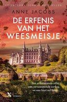 Boek cover De erfenis van het weesmeisje van Anne Jacobs (Onbekend)
