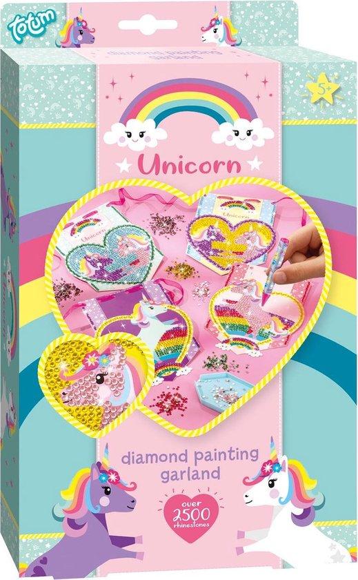 Totum Unicorn Diamond painting - diamond painting knutselset