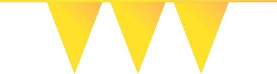 Vlaggenlijn 10mtr geel pk/5