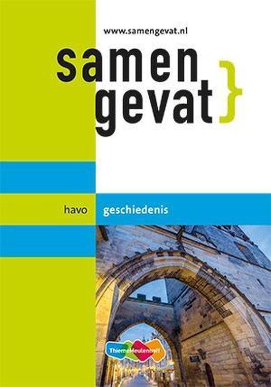 Boek cover Samengevat havo Geschiedenis van Yvonne Bouw (Paperback)