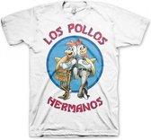Breaking Bad Los Pollos Hermanos Breaking Bad Heren T-shirt Maat XL