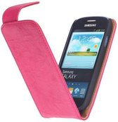 Wicked Narwal | Echt leder Classic Hoes voor Samsung Galaxy S3 i9300 Roze