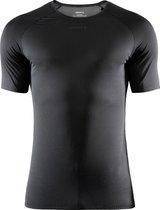 Craft Pro Dry Nanoweight Ss M Sportshirt Heren - Black