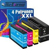 PlatinumSerie® 4 cartridges XXL alternatief voor HP 953XL geschikt voor: HP OfficeJet Pro 7740 WF / 8200 Series / 8210 / 8218 / 8710 / 8715 / 8718 / 8719 / 8720 / 8720 Series / 8725 / 8730 / 8740