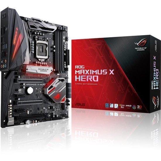 ASUS ROG MAXIMUS X HERO LGA 1151 (Socket H4) ATX