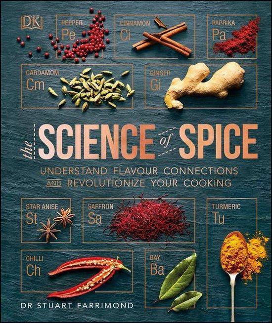 Boek cover The Science of Spice van Dr. Stuart Farrimond (Onbekend)