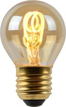 Lucide LED Bulb - Filament lamp - LED Dimb. - E27 - 1x3W 2200K - Amber