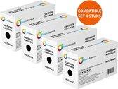 Huismerk 4X Toner voor Samsung Ml1660 Scx3200 patent vrij Toners-kopen_nl
